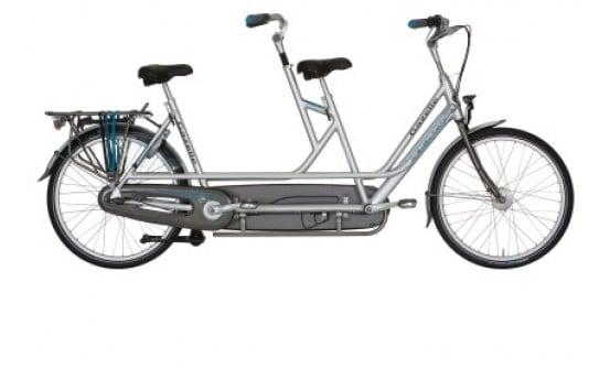 Tandem bike Amsterdam