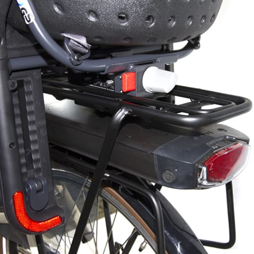 Set up system bike seat